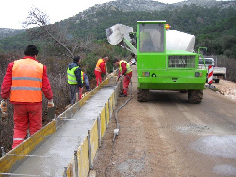 NADZOR NA RADOVIMA Izvanredno održavanje državne ceste D119